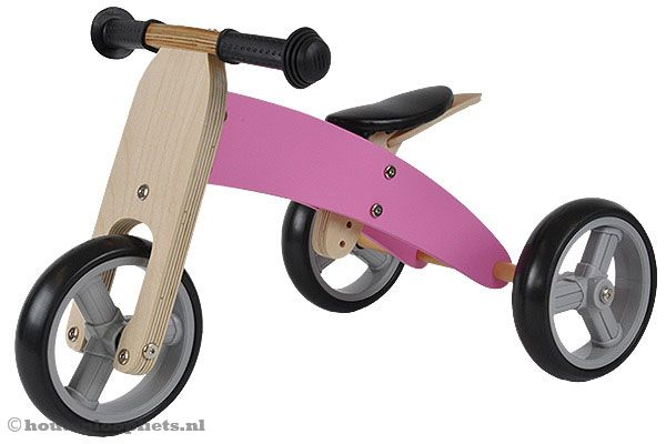 Smart bike 4in1 roze