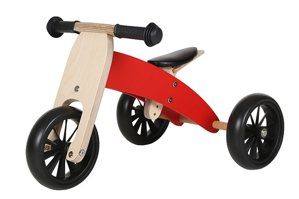 Houten Smart bike 4 in 1 van Bandits & Angels.