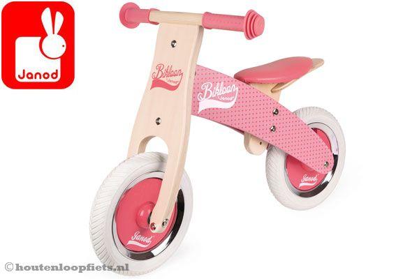 My first balance bike roze