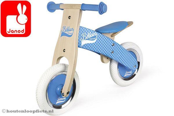 My first balance bike blauw