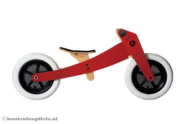 Wishbonebike rood 2 in 1 Limited Edition